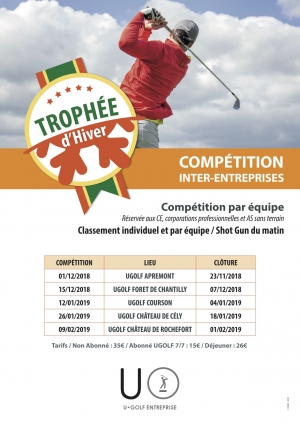 COUPE HIVER INTER ENTREPRISES UGOLF